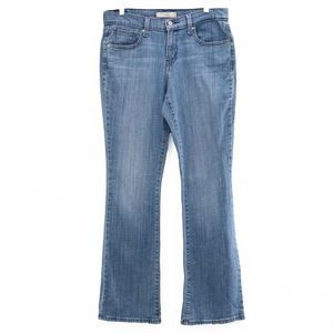 Levi's 515 Bootcut Studded-Back-Pocket Jeans